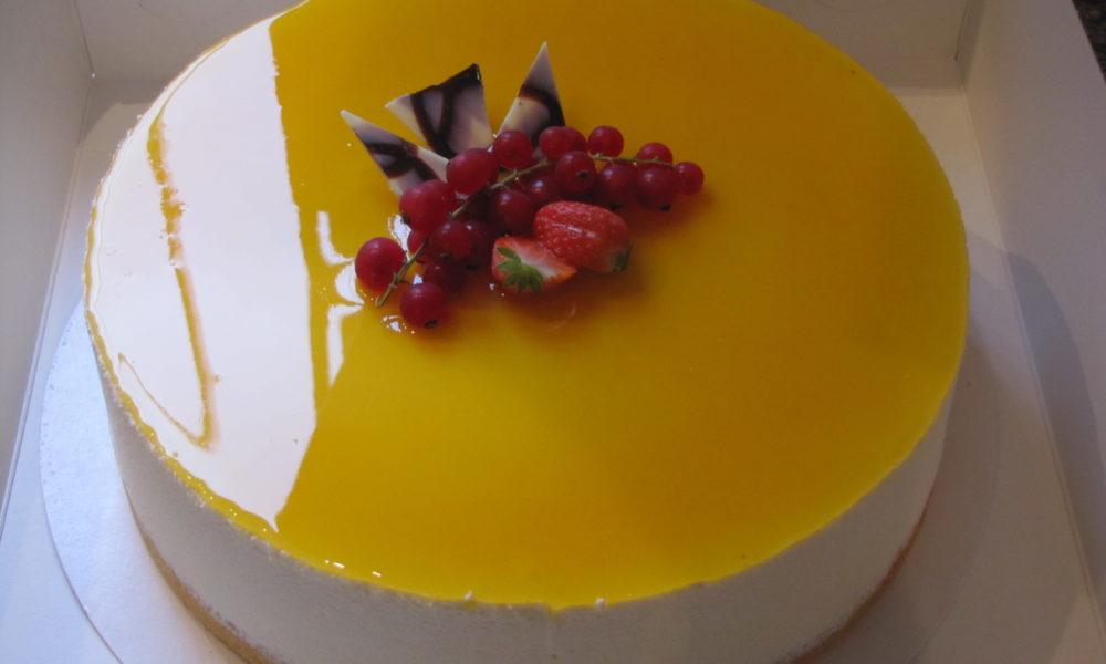 EMmmmy's patisserie - Passievrucht taart - taart bestellen
